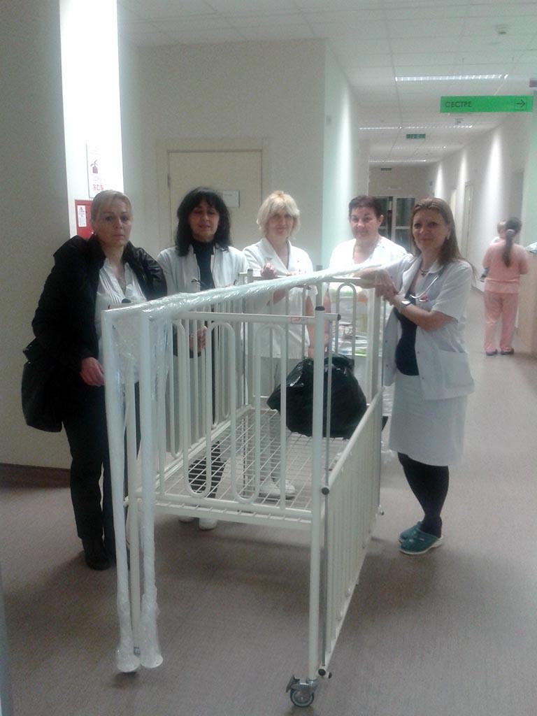 """Donacija dječijeg bolesničkog kreveta opštoj bolnici """"Sveti Vračevi"""""""