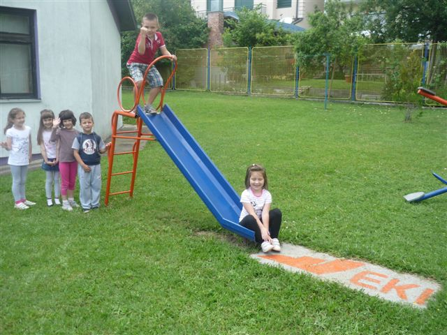 Donacija ljuljaški - Dječiji vrtić Princeza
