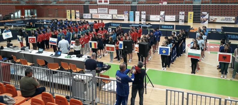 XXVI Balkanijada u stonom tenisu za mlade, Zenica 2018