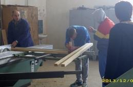 """Donacija repromaterijala za obnovu svlačionice """"Mješovitog školskog centra"""", Živinice"""